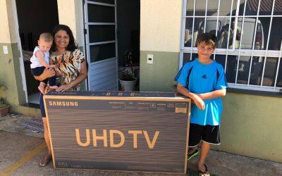 Hora de curtir! Vencedores do Concurso para Famílias recebem prêmios